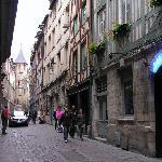 L'entrée sur la rue St-Romain