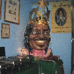 Mardi Gras head of Ernie K-Doe