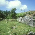 Dunboy Castle Grundmauern