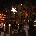 Casa De Cris at night