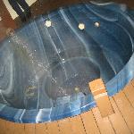 mineral spa pool