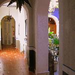 Corridor Leading to the Courtyard