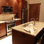 Kitchen in suite.