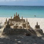 Boracay sandcastles
