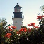 Lighthouse from Hemingway Garden