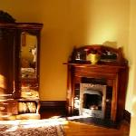 Fireplace Front parlor
