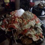 Our order of nachos