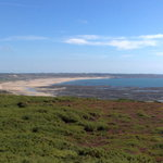 View from near the Model Aircraft Runway over St Ouen's Bay