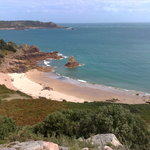 Beauport Bay - the most photographed bay in Jersey apparently