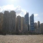Beach and more tall buildings