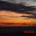 ein furchtbarer Sonnenuntergang