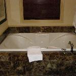 Whirlpool bath for 2
