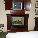 Fireplace and 2nd TV