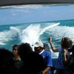 Taxi ride to Caye Caulker