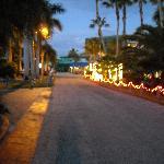Walkways by night, even.