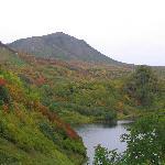 高原沼と緑岳