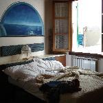 Bedroom of Alla Marina apartment