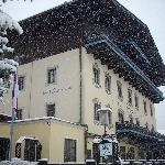Snowing on arrival