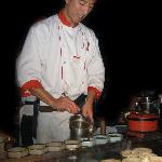 Samurai Chef at Work