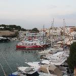 Port in Ciudadella