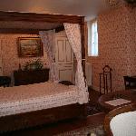 La chambre que nous avons occupée