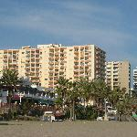 view from beach of Apartment Tamarindos