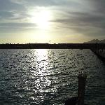 sea evening again