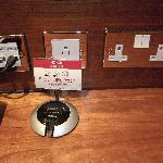Power outlets (UK/US) no European