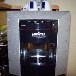 In room espresso machine
