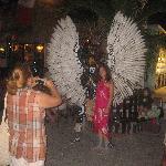 Photo op. on La Quinta Avenida, Playa del Carmen
