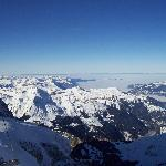 Clear day from the Jungfraujoch.