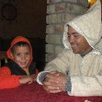 owner Ibrahim with his son