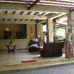 hotel reception/lobby
