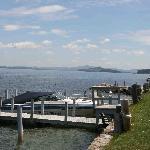 Belknap Point Motel piers/boat docks