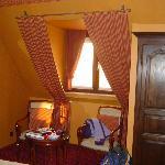 Our top floor room