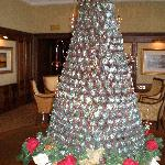 Garden Room Xmas Tree Made From REAL CHOCOLATE !