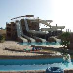 Another slide in the water park