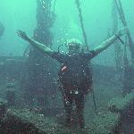 Diving on the wreck of the Lefteris
