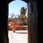 la porte magique...