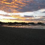 sunset from Salatan resort