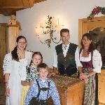 Famiglia Rosa, proprietari dell'Albergo Aurora