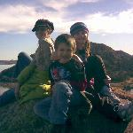 The Kids on quartz Mountain
