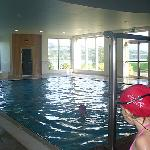 great indoor pool