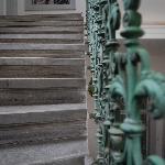 Steps up to front door