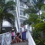 me my sis and my lil cuz up @ apaula