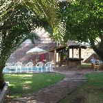 La Casa Roja - garden