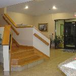 stairways lobby