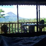 Volcanic Views from your Bed !