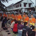 Monks ikn the morning