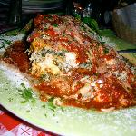 Lasagna at Salvatore's
